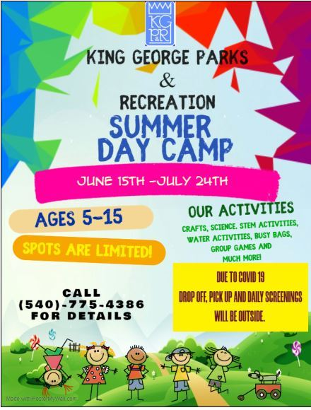 2020 Summer Day Camp